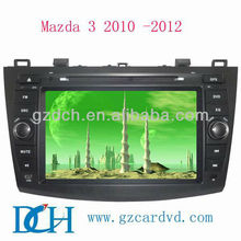 dvd for car for Mazda 3 2010 -2012 with 3G function WS-6012