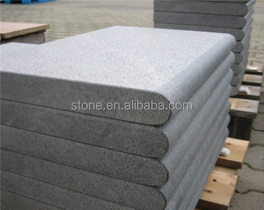 G684 Black Granite Swimming Pool coping Stone