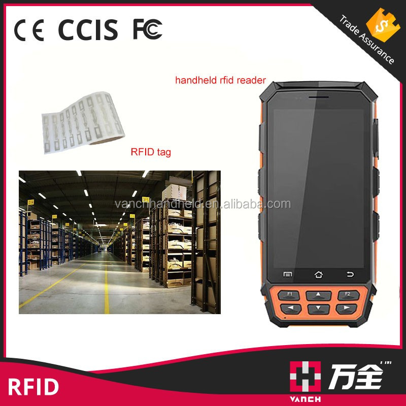 5 inch Android Long Distance USB smartphone RFID Reader VH-71T