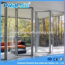 High quality exterior or interior aluminium glass door design