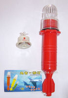 flash LED light used on the fishing net,turn on in night,turn off in day