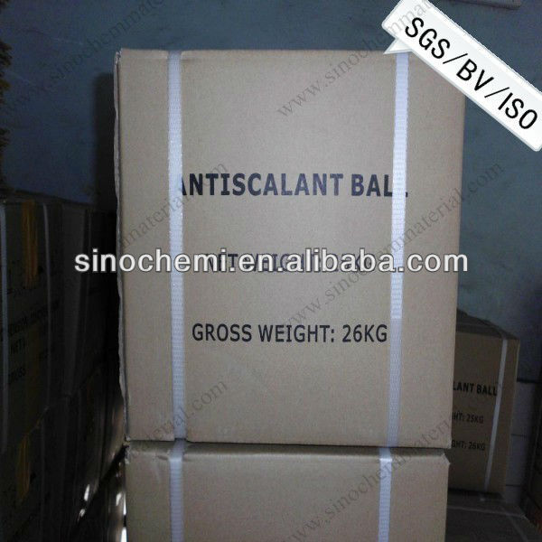 Antiscale Chemical industry Grade Sodium Polyphosphate Siliphos Crystal Ball