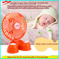 Magic Bean fan, usb rechargeable stand fan with big battery