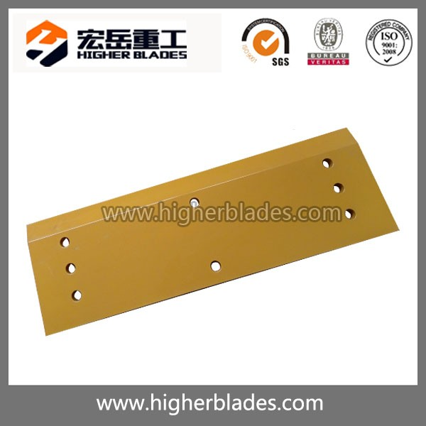 Through hardened cutting edges for wheel loader bucket heavy equipment 1U1896