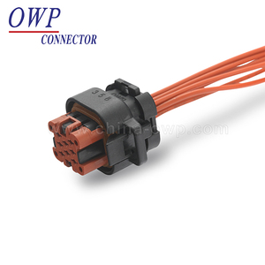 Auto wire harness connector 8 pin electric auto connector