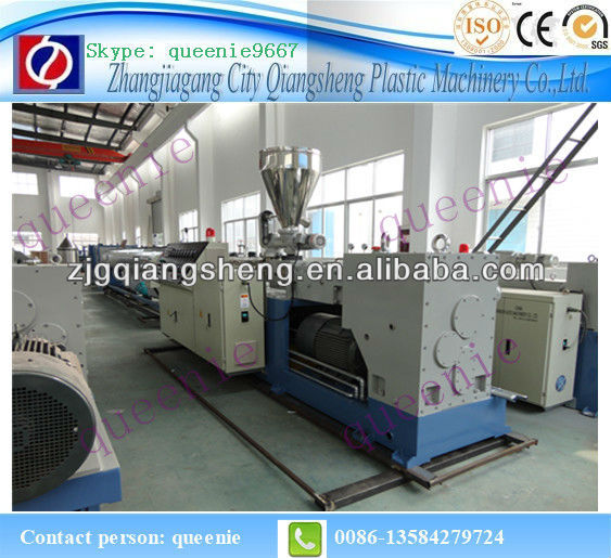 double strand PVC tube making machine