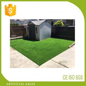 Anti-Fade Standard Synthetic Grass Lawn For Basketball Decoration Garden