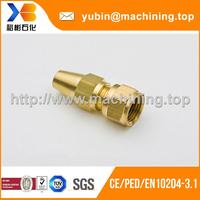 Brass Copper Machining Services Custom Nonstandard