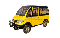Commercial electric minibus with 8 seats
