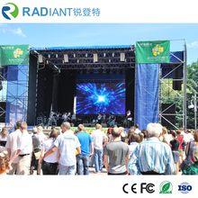 P3.91 rental LED display screen waterproof die-casting aluminum cabinet for indoor or outdoor stage