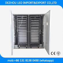 best hatching rate industrial automatic egg incubator hatcher for 10000 eggs