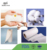 Absorbent Soft Natural Cotton Non woven Fabric Sanitary Napkin Raw Material