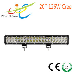 2016 NEW 126W Auto LED Light Bar Waterproof LED Driving Light Off road LED