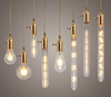 Best type energy saving lamps led light filament 6W 4W A19 E27 warm white bulbs for home lighting