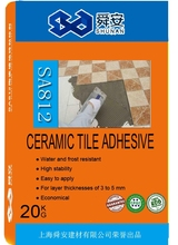 Flexible Outdoor Water-resistant Ceramic Tile Adhesive/Glue