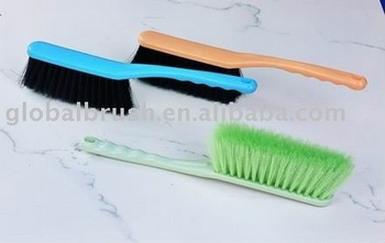HQ0666 hot-saled plastic car brush/bed brush/dust brush in PET monofilament