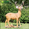 Christmas Decorative Deer Animal Statue In