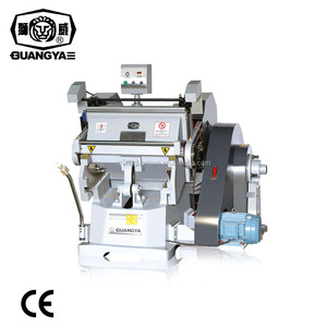 ML-750 Manual Creasing and Die Cutting Machine