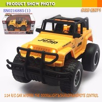 1:14 rc car Jeep Toy with openable door