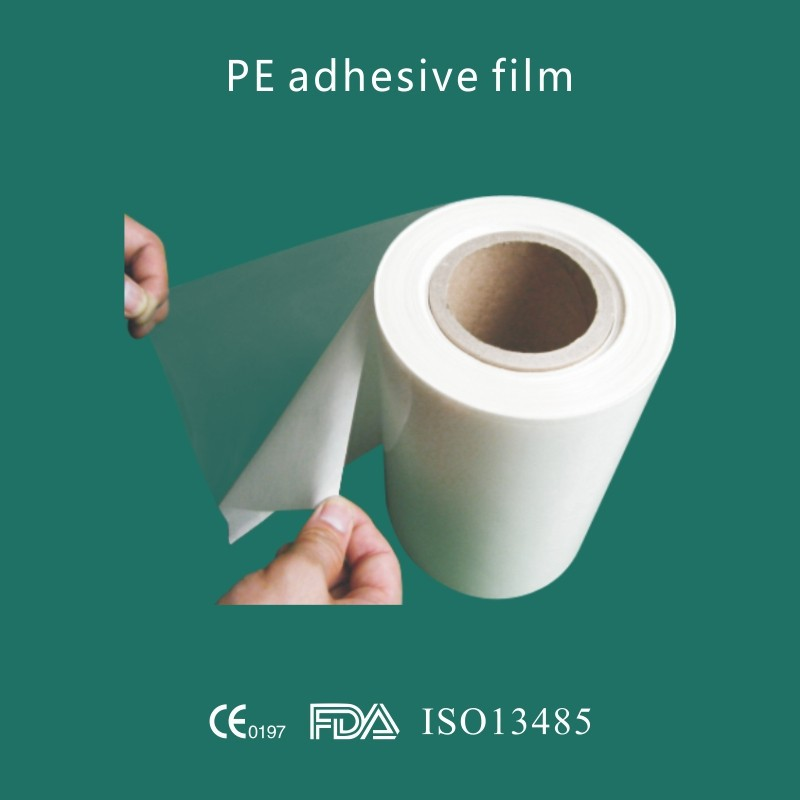 Medical PE film raw metarial roll for PE tape