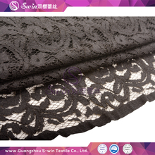Multi Color Optional Metallic Avalable velvet fabric wholesale Cheap Mesh Voile Lace Poly Viscose Fabric for Wholesale
