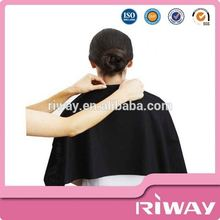 Black Biodegradable disposable hair salon towel