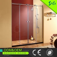 Stainless steel 316 grade slding shower door bath shower cabins