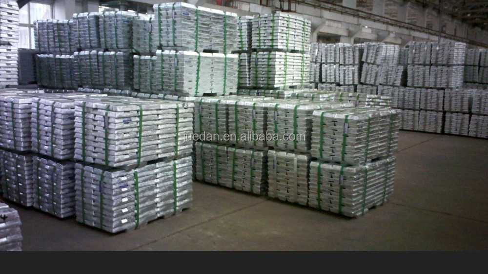 High Quality Zinc Ingot 99.995% VERY HIGH GRADE