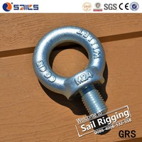 M24 Galvanized High Strength Lifting Anchor Eye Bolt Din580