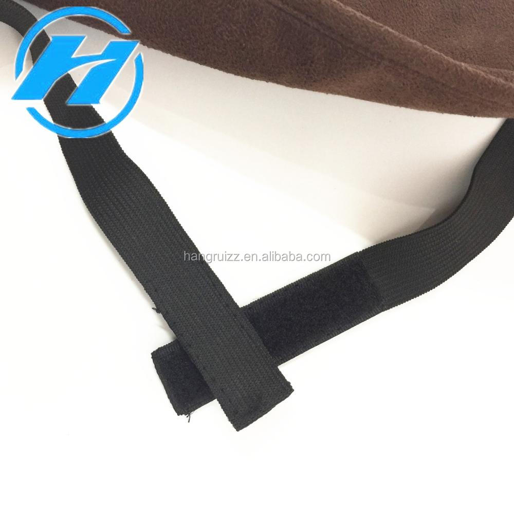 Manufacturer Wholesale Airline Disposable Suede Travel Sleeping Eye Mask/Eyeshade