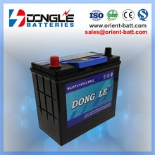 55b24l 12V 45Ah Economic and Durable auto car battery 55b24r