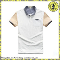 New style mens polo shirts 100% cotton