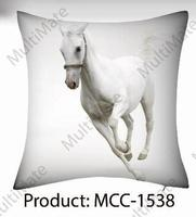 single horse printed racing scene printed cute animal printed christmas theme customized cushion covers