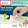 2018 high quality and hotsale magnetic products mini flexible Q-man with strong magnets