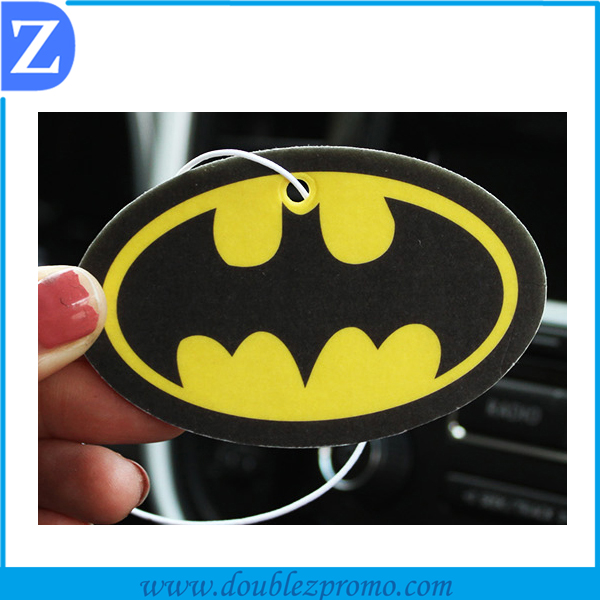 Car hanging paper scent air clean/ air fresher