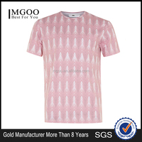 Fast Delivery Shirts For Sublimation Print Pink Geometry Print Shirts Mens Summer Clothing 2016