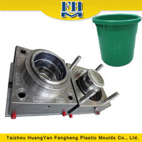 injection plastic water bucket moulds used bucket mould from Zhejiang