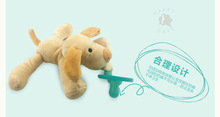 Wholesale New Design Cute Plush Toy Pacifier Baby Dog Toy With Nipple