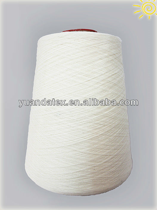 poly wool blended yarn