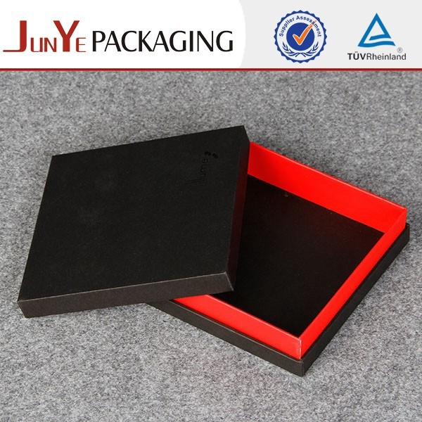 Key chain packaging no logo printed cardboard paper gift box with lids