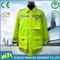 high visibility jacket parka winter en20471 safety men new parka working uniform clothing