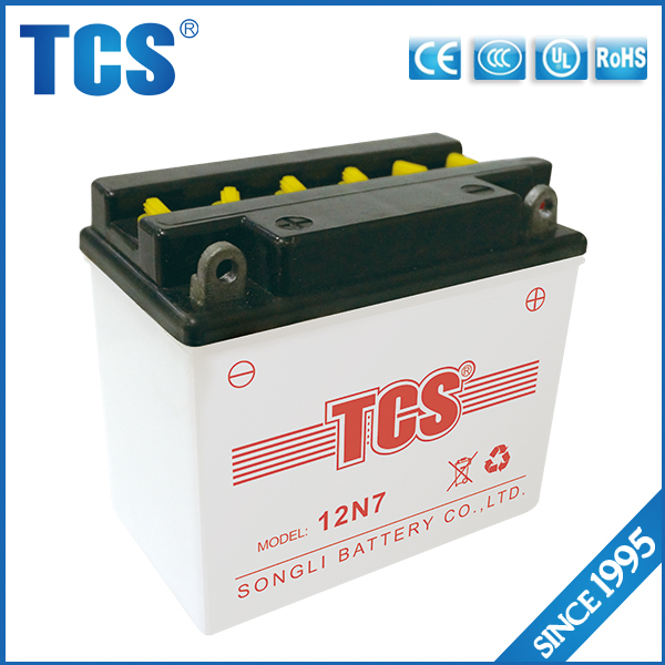 Top quality 12v dry charged dry battery for motorcycle