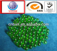 Favorable 2.381mm 3mm 3.175mm 4mm 4.763m 5mm 5.556mm 6.35mm 9.525mm 10mm transparent green glass ball