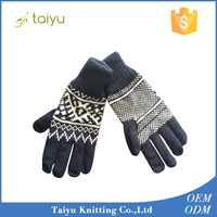 Sample Available Winter Knit Gloves for Whole Sale With Factory Price