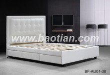 single metal bed frame with wood legs white leather teak wood bed frame