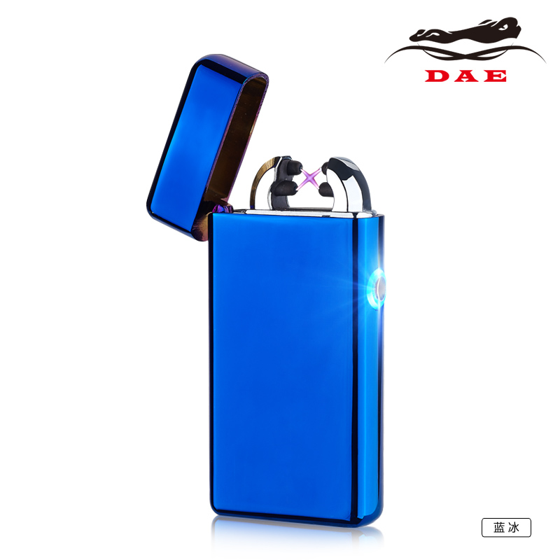 new high quality usb cigarette rechargeable lighter double arc lighter