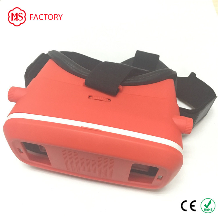 2017 New design rea-touch ABS 3d vr glasses infinite vr box for hot selling