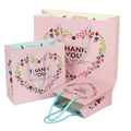 Guangzhou New Products Cheap Paper Christmas Shopping Gift Bags With Handles