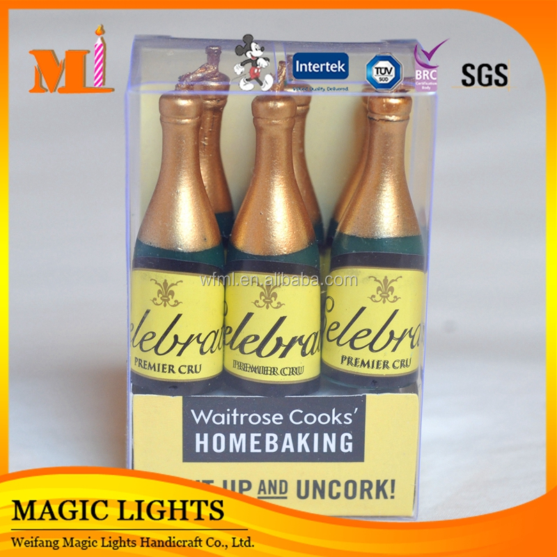Wholesale Wine Bottle Shaped Candles