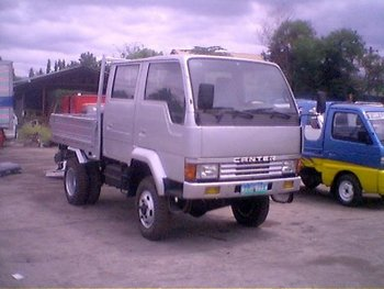 Fuso Canter Double Cab (4 X 4)